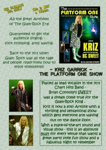 Kriz Garrick The Platform One Show